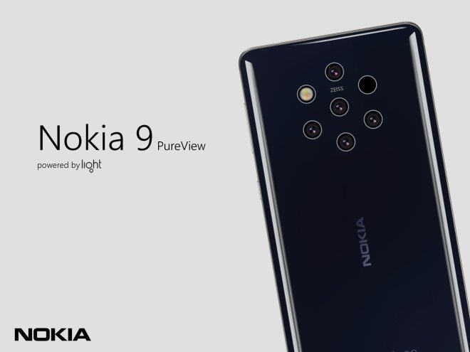 Nokia 9 pure view Officials images