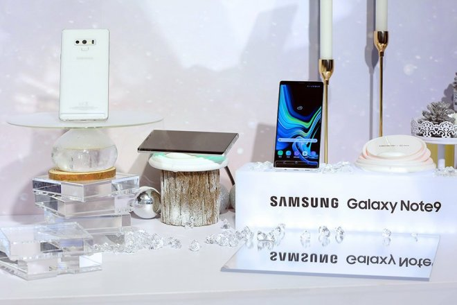 Samsung galaxy note 9 snow white picture