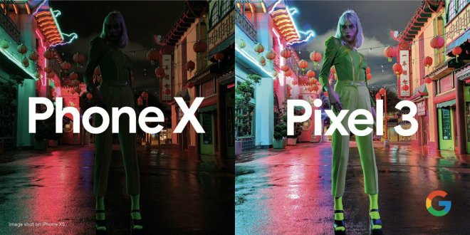 iPhone x vs pixel 3 night sight
