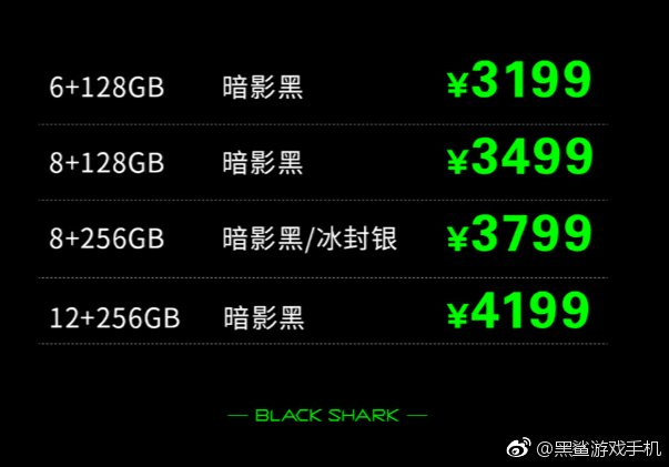 Black Shark 2 Price