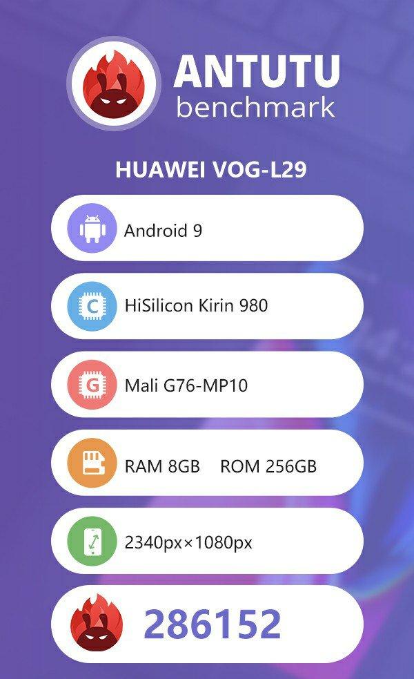 Huawei P30 Pro Antutu Benchmark