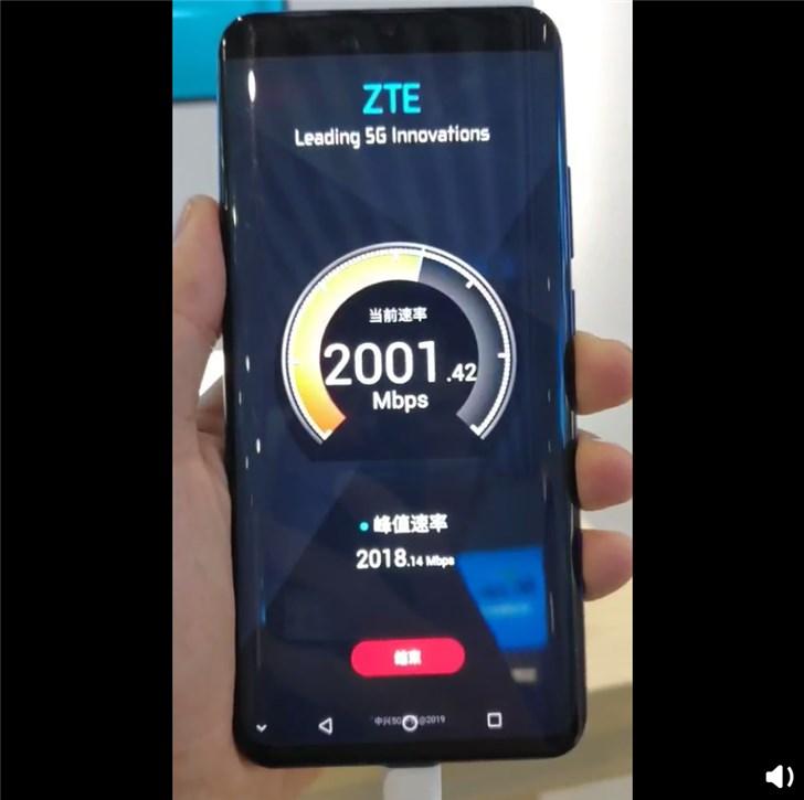 ZTE Axon 10 Pro 5G test video
