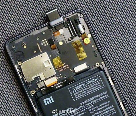 Redmi X Pop-up Camera internal Structure