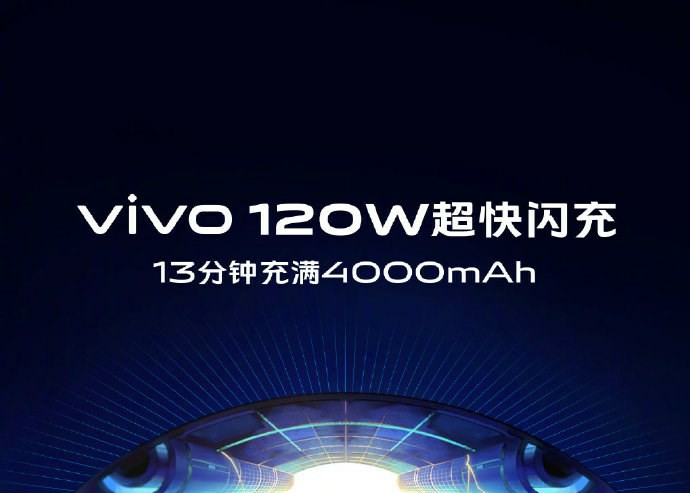 Vivo 120W ultra-fast flash charging