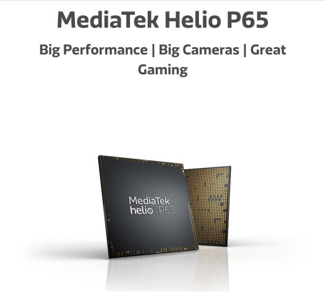 MediaTek helio P65 Specifications